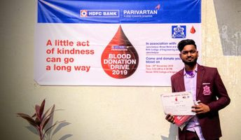 Blood Donation Camp at RVSCET